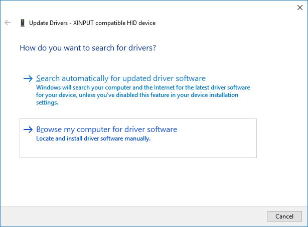 xbox one windows 10 drivers